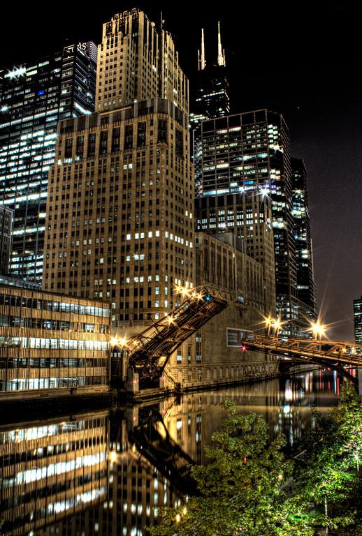 A bridge into Gotham City