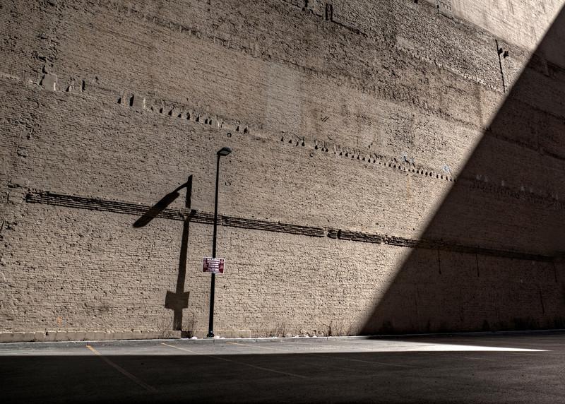 The massive diagonal shadow