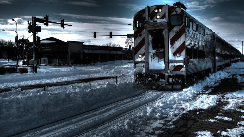 The cold train