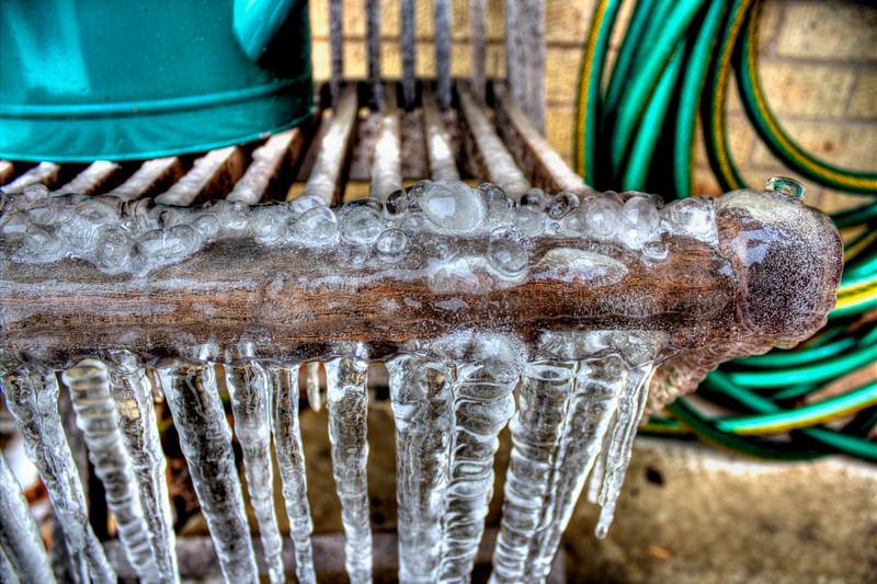 The frozen chair
