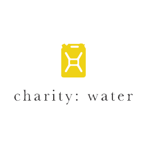 charity: water logo