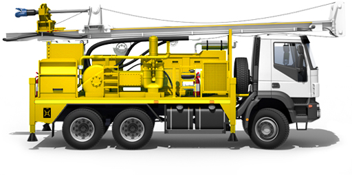 Yellow Thunder drilling rig