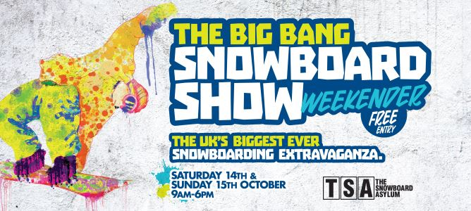 NS Demo Day at the BIG BANG Snowboard Show