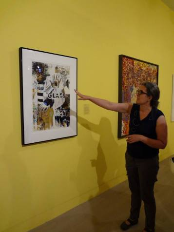 NTS Seminar visits AfriCOBRA exhibition at Logan Exhibitions