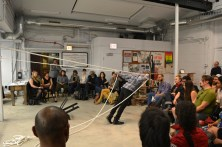 Extinct Entities performance night (pictured: Baraka de Soleil)