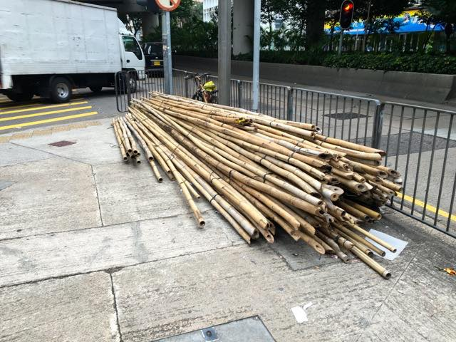 Bamboo for scaffolding | Never to old to travel | Gary House