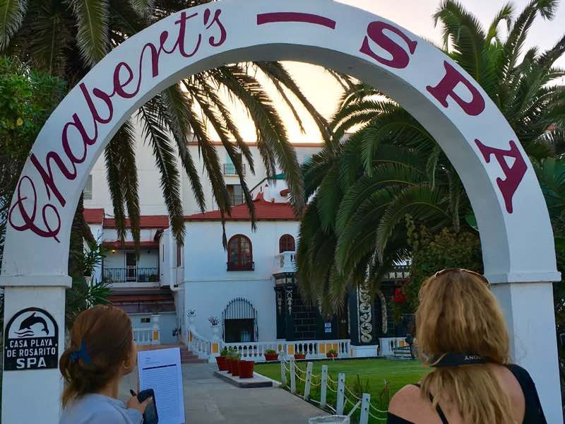 rosarito-beach-hotel-spa-entrance | Never to Old to Travel | Gary House