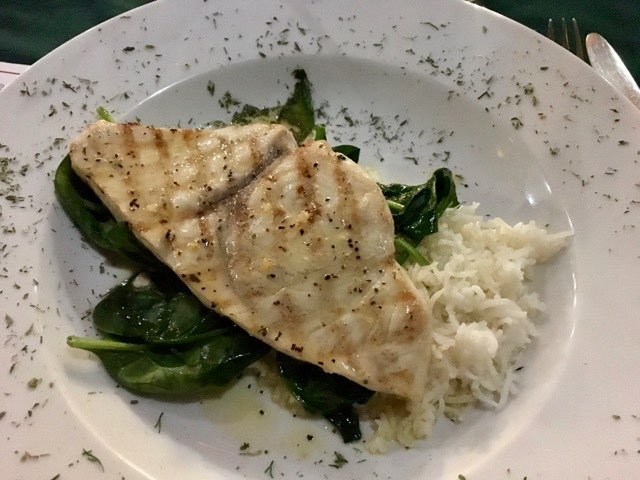 swordfish-dinner-at-susannas | Never to Old to Travel | Gary House