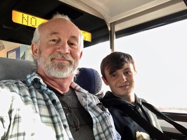 Father and son train trip | NevertoOldtoTravel.com | Gary House