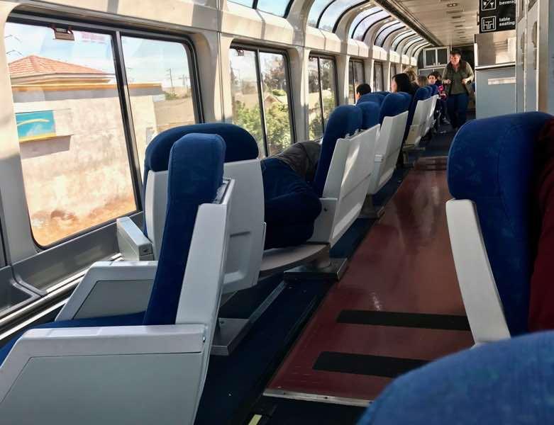 Amtrak Observation Car | nevertooldtotravel.com | Gary House