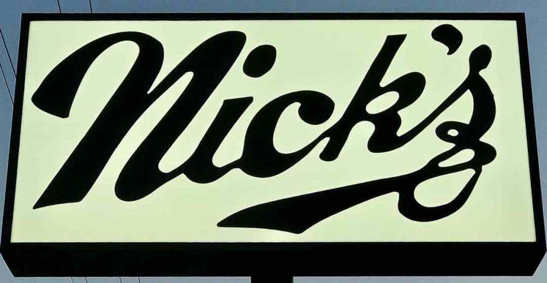 Nick's in the Sticks sign | nevertooldtotravel.com | Gary House