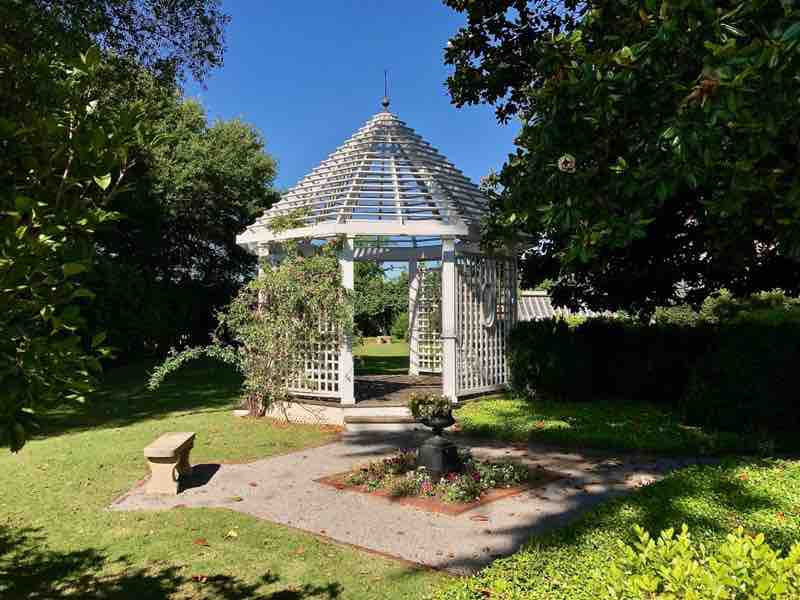 Battle-Friedman House & Gardens Gazebo | nevertooldtotravel.com | Gary House