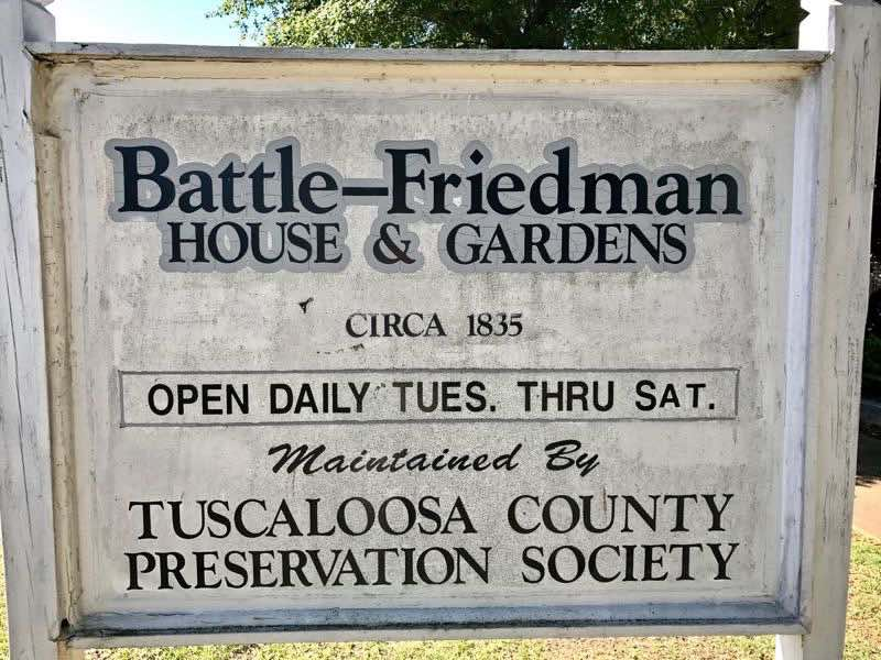 Battle-Friedman House & Gardens Hours | nevertooldtotravel.com | Gary House