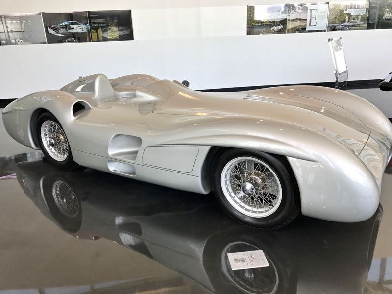 Mercedes Benz Prototype Car | nevertooldtotravel.com | Gary House
