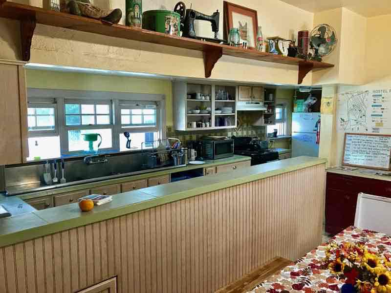 Kitchen area - Hostel Obispo - San Luis Obispo | Nevertooldtotravel.com | Gary House