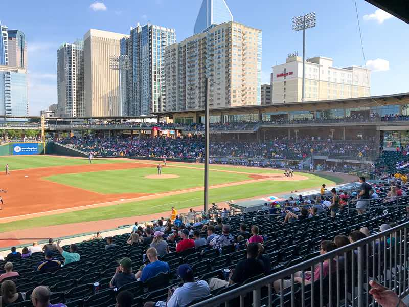 BB&T Ballpark in uptown Charlotte | Nevertooldtotravel.com | Gary House