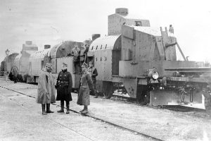 Austro-Hungarian armored train