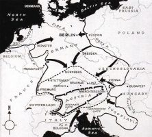 Europe Second World War Map