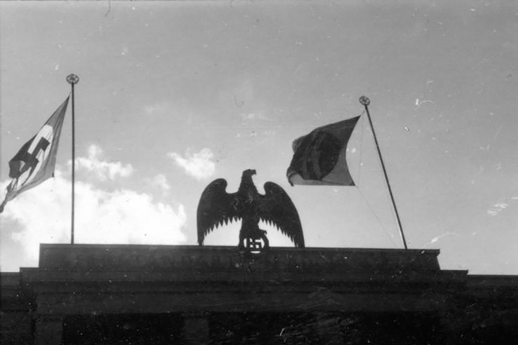 Nazi eagle in Berlin