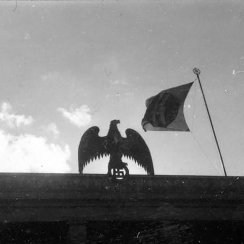 Nazi eagle in Berlin