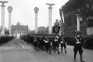 SS officers in Berlin