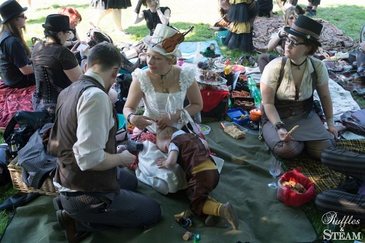 Wave Gotik Treffen 2014 picnic