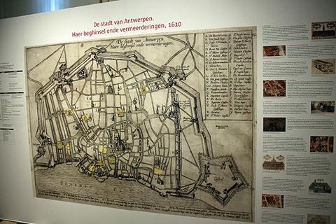 Museum Plantin-Moretus Antwerp Belgium Drawing the City exhibit