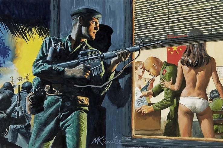 Art by Mort Künstler