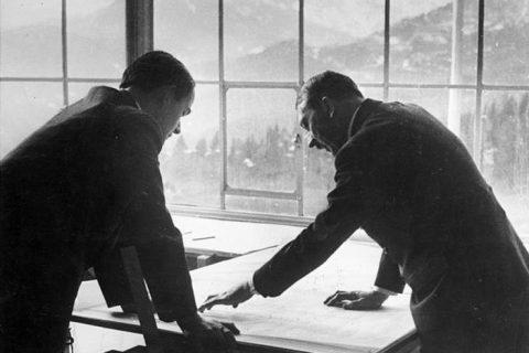 Albert Speer Adolf Hitler