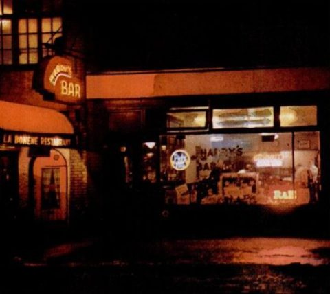New York bar at night 1946