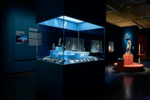 British Museum Sunken Cities Egypts Lost Worlds exhibit