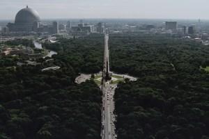 Berlin Germany skyline