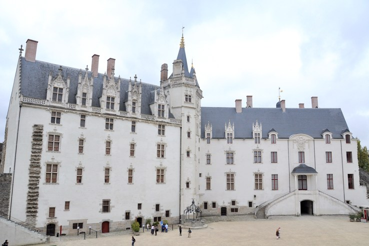 Nantes Castle France