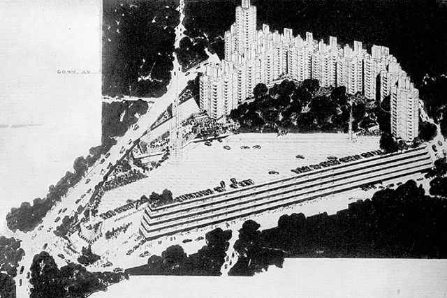 Crystal Heights by Frank Lloyd Wright