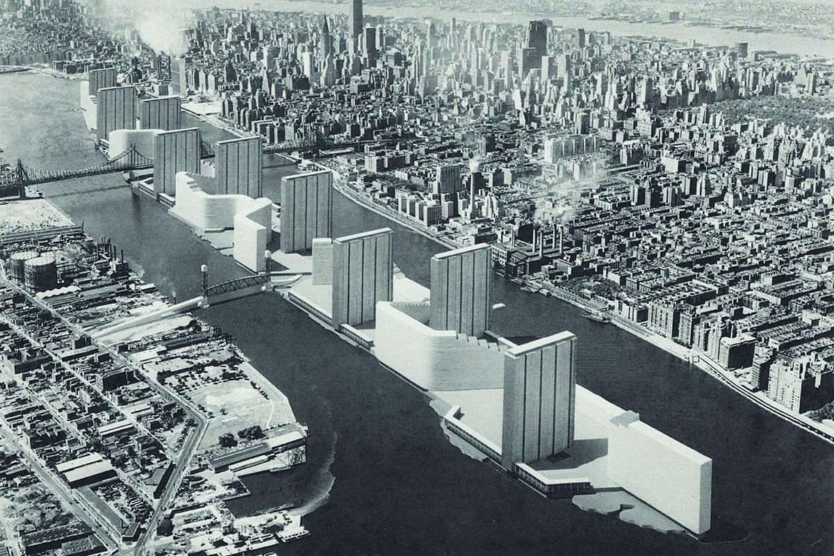 Welfare Island New York design