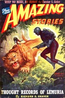 Amazing Stories June 1945 cover