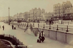 Brighton, England in the 1890s