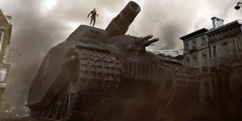 Captain America: The First Avenger Hydra tank