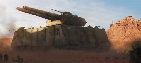Landkreuzer P 1000 Ratte artwork