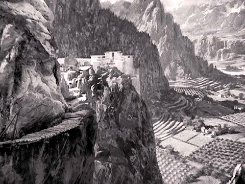 Lost Horizon scene