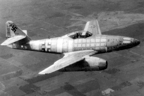 Messerschmitt Me 262 jet aircraft