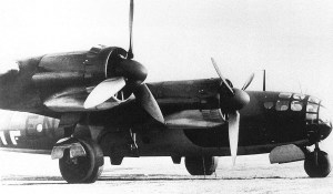 Messerschmitt Me 264 German bomber