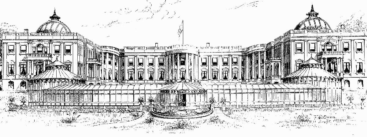 White House expansion design