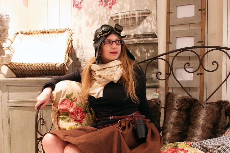 Steampunk adventurer fashion