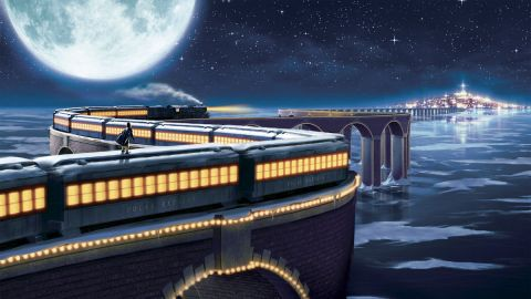The Polar Express scene