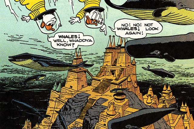 The Secret of Atlantis illustration