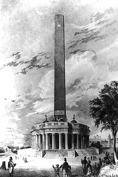 Washington Monument by Robert Mills