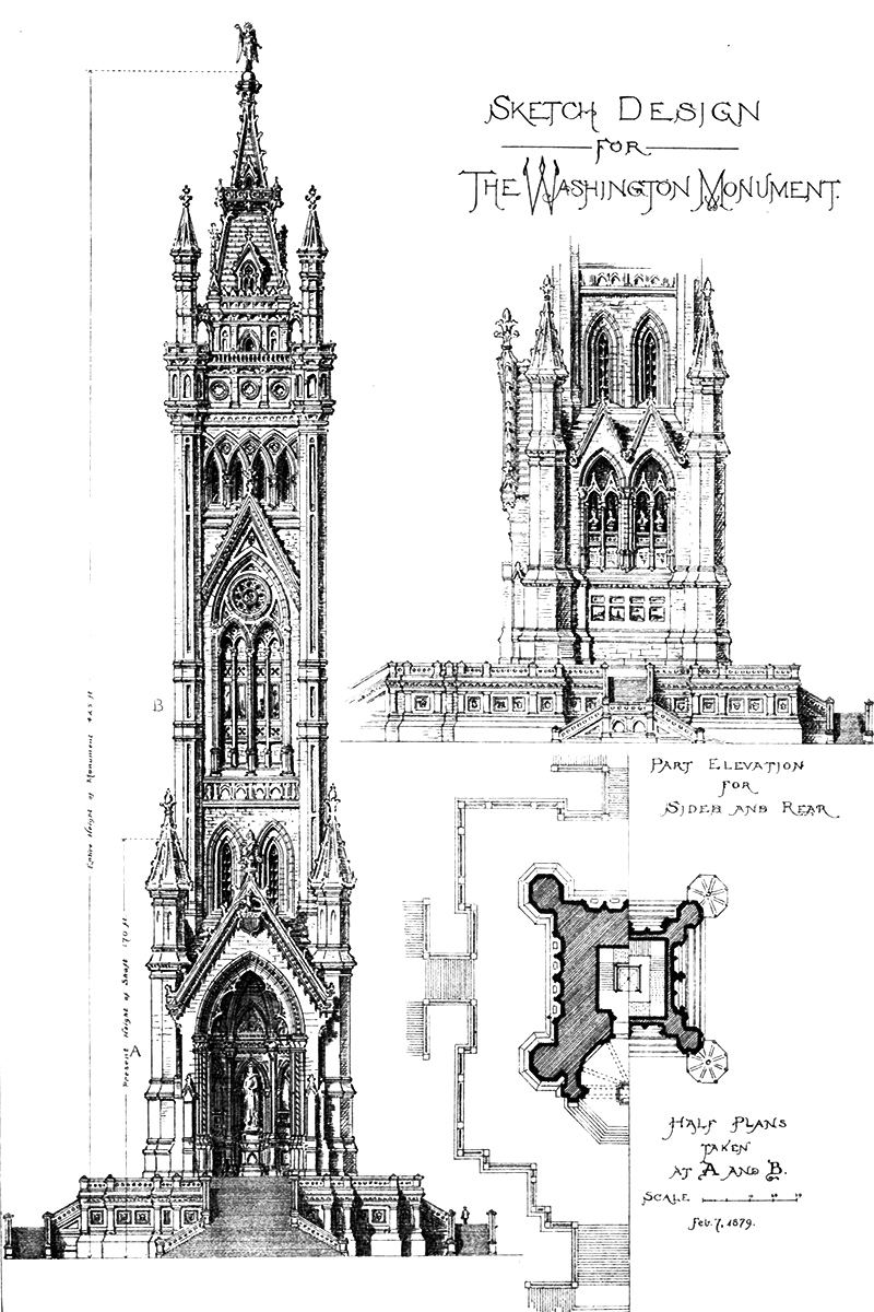 Washington Monument design