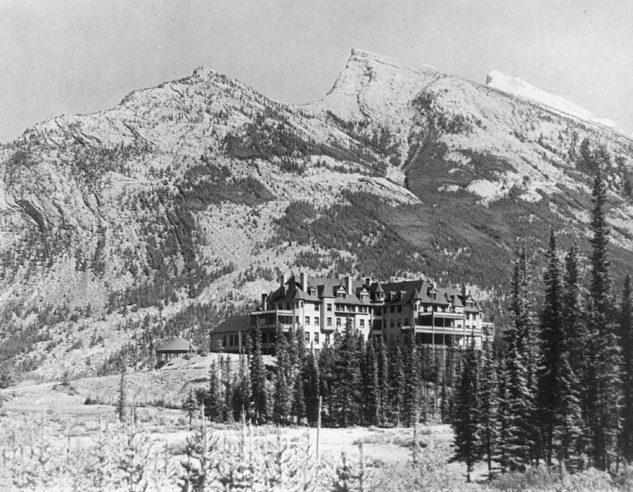 Banff Springs Hotel Alberta Canada