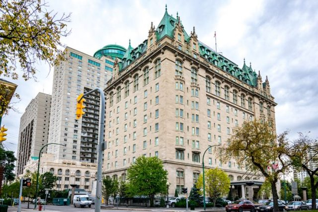 Fort Garry Hotel Winnipeg Canada